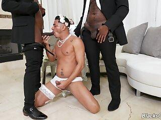 Peculiar gay threeway with Avatar Akiya, Cesar Xes and Micah Martinez